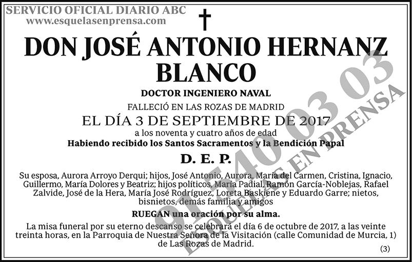 José Antonio Hernanz Blanco